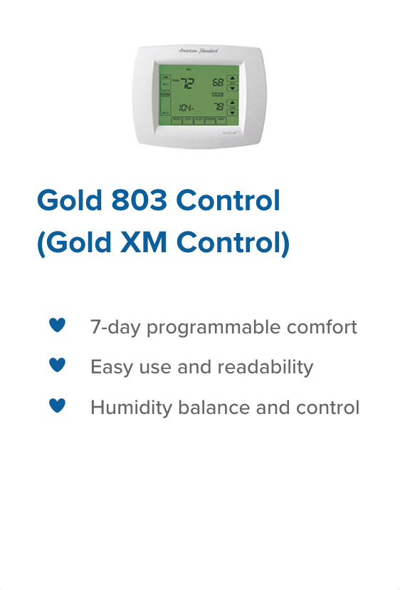 Gold 803 control