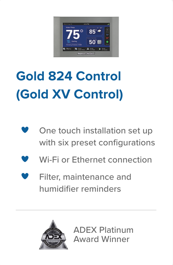 Gold 824 Control