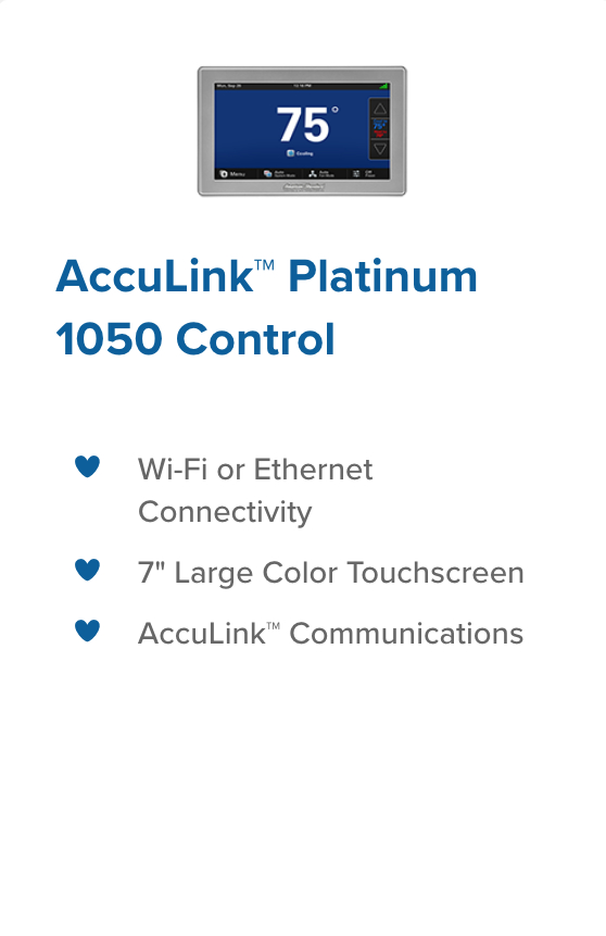 acculink 1050 control