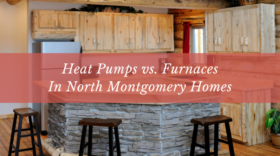 Heat Pumps vs. Furnaces In North Montgomery Homes